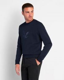 Lyle & Scott Embroidered Eagle Sweatshirt
