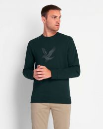 Lyle & Scott Embroidered Eagle Sweatshirt Green