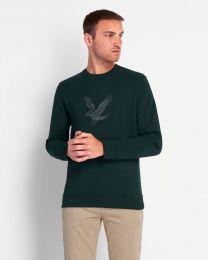 Lyle & Scott Embroidered Eagle Sweatshirt Green