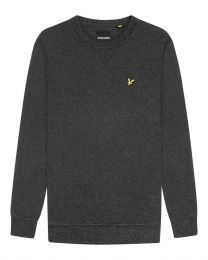 Lyle & Scott Crew Neck Sweatshirt Dark Grey