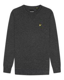 Lyle & Scott Crew Neck Sweatshirt Dark Grey