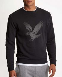 Lyle & Scott Casuals Logo Sweatshirt True Black