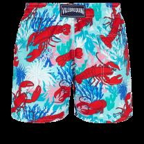 Vilebrequin Moorea Swim Short Homards & Coraux Medicis Red