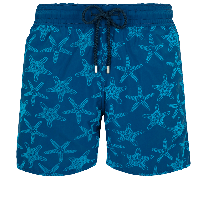 Vilebrequin Mahina Swim Short Fonds Marins