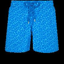 Vilebrequin Moorea Swim Short Micro Ronde des Tortues Hawaii Blue