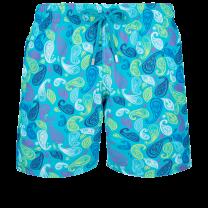 Vilebrequin Moorea Swim Short Ocean Paisley Multicolore