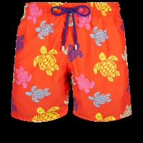 Vilebrequin Moorea Swim Short Ronde des Tortues Multicolor