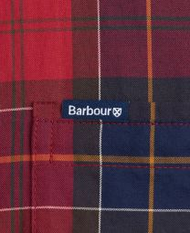 Barbour Wetherham Tailored Shirt Red
