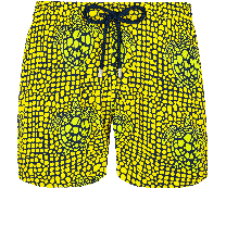 Vilebrequin Moorise Superflex Shell Turtles Citron