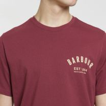 Barbour International Preppy T-Shirt Ruby