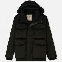 Nemen Multipocket Gradient Jacket Green/Black