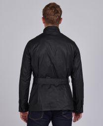 Barbour Lightweight SL International Waxed Cotton Jacket Black