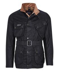 Barbour Lightweight SL International Waxed Cotton Jacket Sage