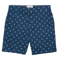 Original Penguin Print Short Dark Denim