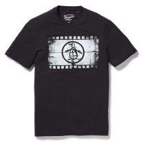 Original Penguin Movie Reel Clothing T-shirt Black