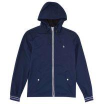 Original Penguin Full Zip Hooded Ratner Jacket 2.0 Dark Sapphire