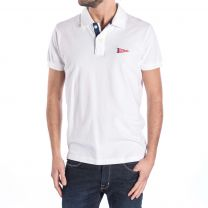 Franklin & Marshall Polo POMCA114ANS16 0391 White