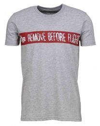 Alpha Industries RBF Tee Grey Heather
