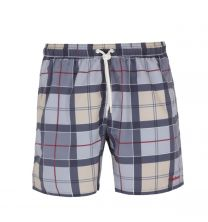 Barbour Tartan Grey Swim Shorts