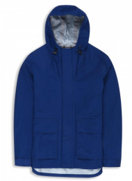 Ben Sherman Waterproof Cagoule Jacket Blue Depths