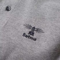 Barbour Joshua Polo Grey Marl