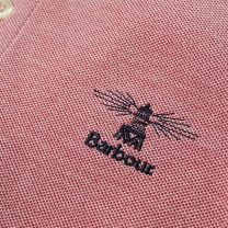 Barbour Peak Mix Polo Red