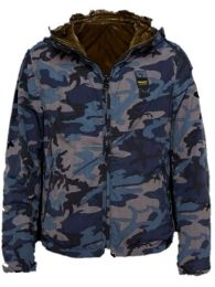 Blauer Camo Jacket Blue
