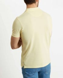 Lyle & Scott Plain Polo Shirt Vanilla Cream