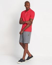 Lyle & Scott Plain Polo Shirt Geranium Pink