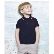 Fred Perry Kids Twin Tipped Shirt 471
