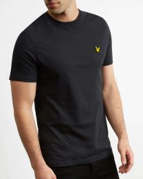 Lyle & Scott Crew Neck Tee True Black