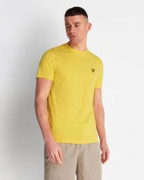 Lyle & Scott Crew Neck Tee Buttercup Yellow