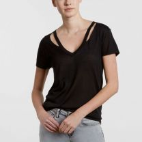 Levi's Made and Crafted V-Neck Cutout T-Shirt