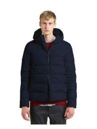 Woolrich Sierra Hooded Jacket Melton Blue