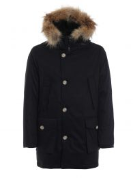 Woolrich Laminated Cotton Parka HC Black