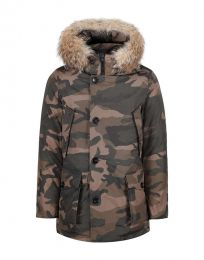 Woolrich Camou Arctic Parka HC Brown Camou