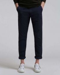 Woolrich Popeline Regular Chino Alpine Navy