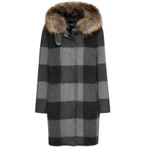 Woolrich W´s Allgood Coat Grey/Black