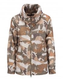Woolrich W´s Short A-Line Anorak Camou