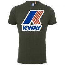 K-Way Pete Macro Logo Tee Green Africa