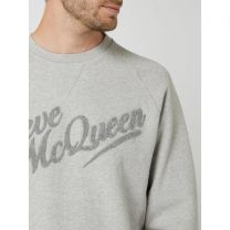 Barbour International Steve McQueen Doc Sweatshirt Grey